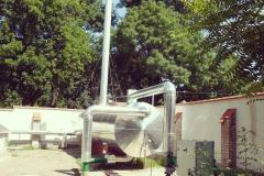 Békéscsabai Árpár Fürdő gáztalanító-tárolója