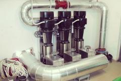 A makói termál rendszer hőtermelő bázisa ideiglenes hűtő-tározóval