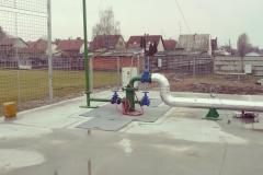 A makói termál rendszer hőtermelő bázisa továbbító és visszasajtoló szivattyú rendszerekkel